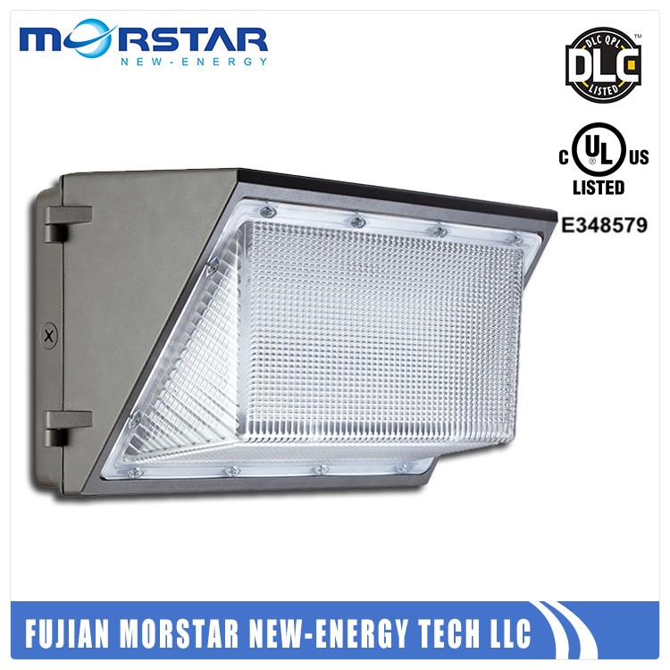 50 W ul dlc photocell optional led wall pack light