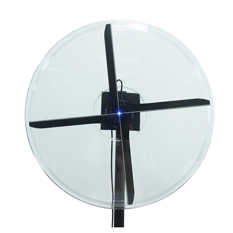 2019 New Advertising Product High Resolution APP Control A2 A3W LED 3D Hologram Fan with Wifi