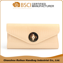 Fashion women bag PU leather handbag evening envelope clutch bag