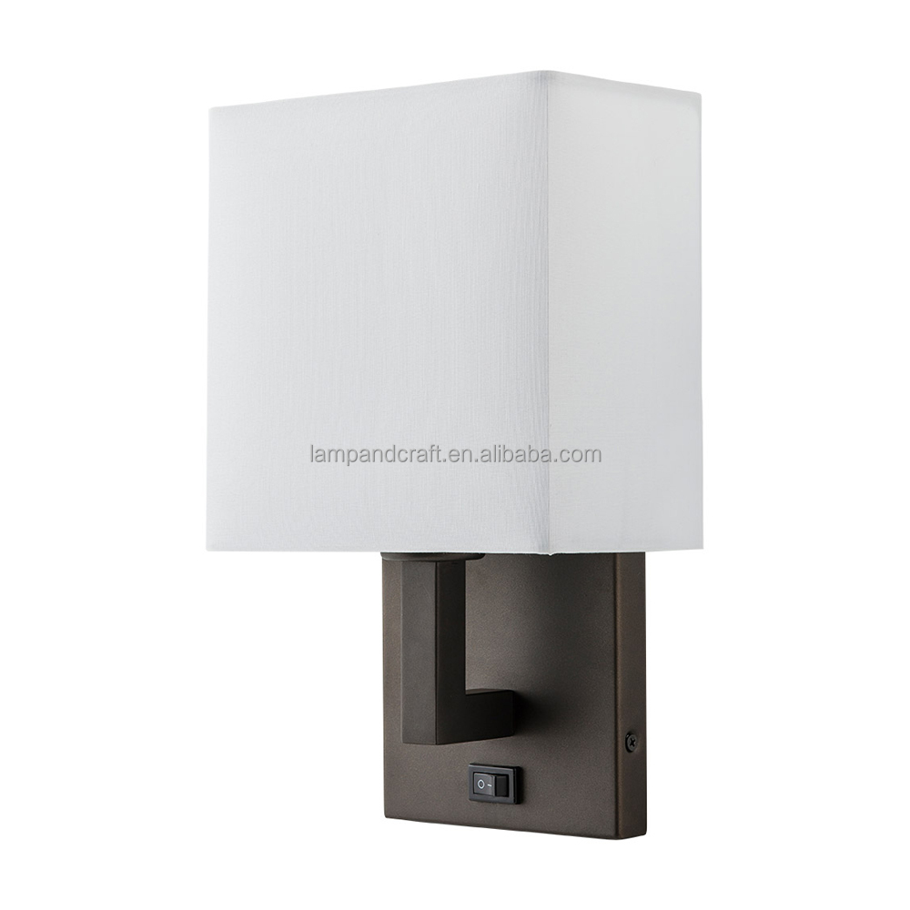 Quality Inn Sleep Inn Power Outlets Hotel Wall Lamps With Switch ...