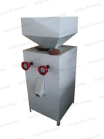 beer brewery equipment double-roll malt milling machine
