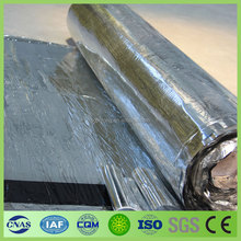 low price with good quality self adhesive bitumen waterproof membrane for roof