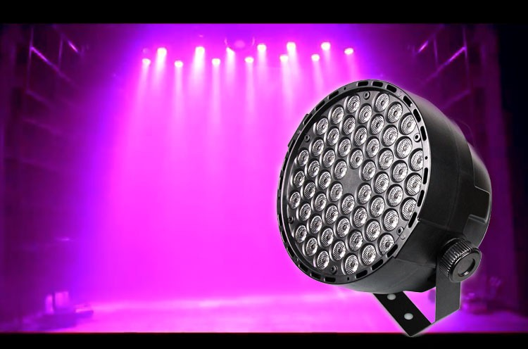 Hot sale new 54x 3W LED RGBW LED Par led dmx Light for professional stage & DJ 7CH stage lighting effect for party KTV