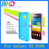 Glossy candy color tpu case for samsung galaxy s2 i9100