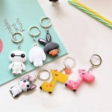 DQ Professional custom making PVC keychain with logo from Keychain making supplies