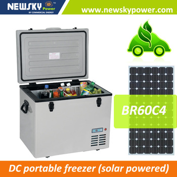 popular selling model solar portable freezer portatil para camping