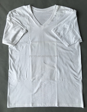 Wholesale bulk plain white t shirts unbranded t-shirts blank men t-shirts