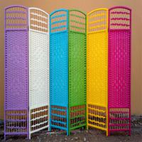 Low price handmade folding room divider