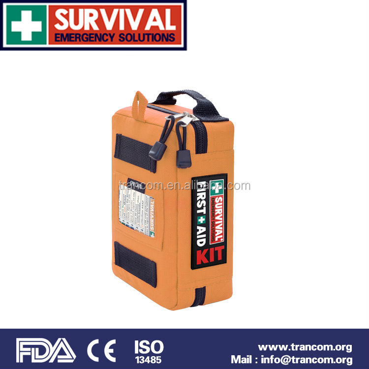SES03 Car First Aid Kit Survival Kit Handy First Aid Kit with FDA/CE