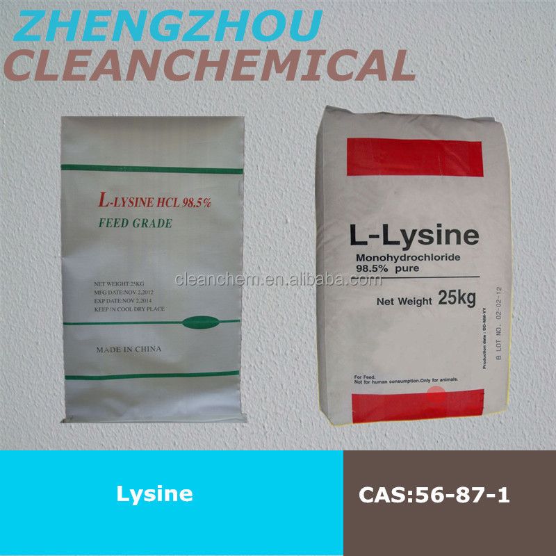 C6H14N2O2 Lysine hcl 98.5% & sulphate 70% for Iraq market