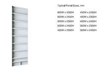 6061-T6 aluminum wall panel formwork system