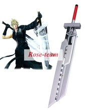 Rose-team Fantasia Anime Cosplay Made Final Fantasy VII Advent Children Cloud Strife Fusion Swords Cosplay Wooden Weapons