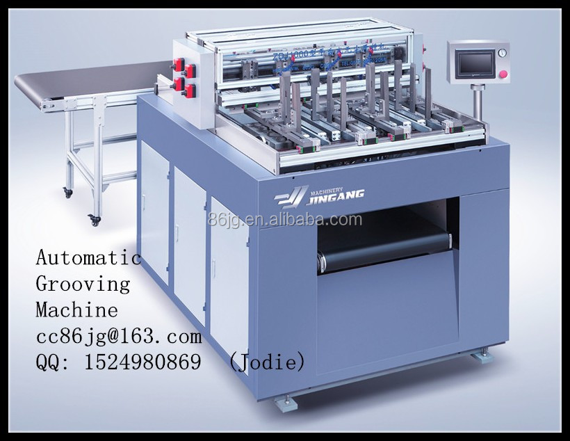 ZDJ-1000 Automatic Groover for rigid box making line