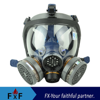 Full Face Antigas Respirator