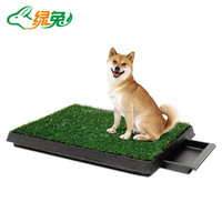 Fine quality hot selling removable tray drawer dog toilet pet cleaning pet toilet