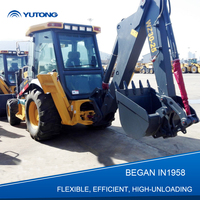 Hot Sale New Wheeled Backhoe Loader Excavator