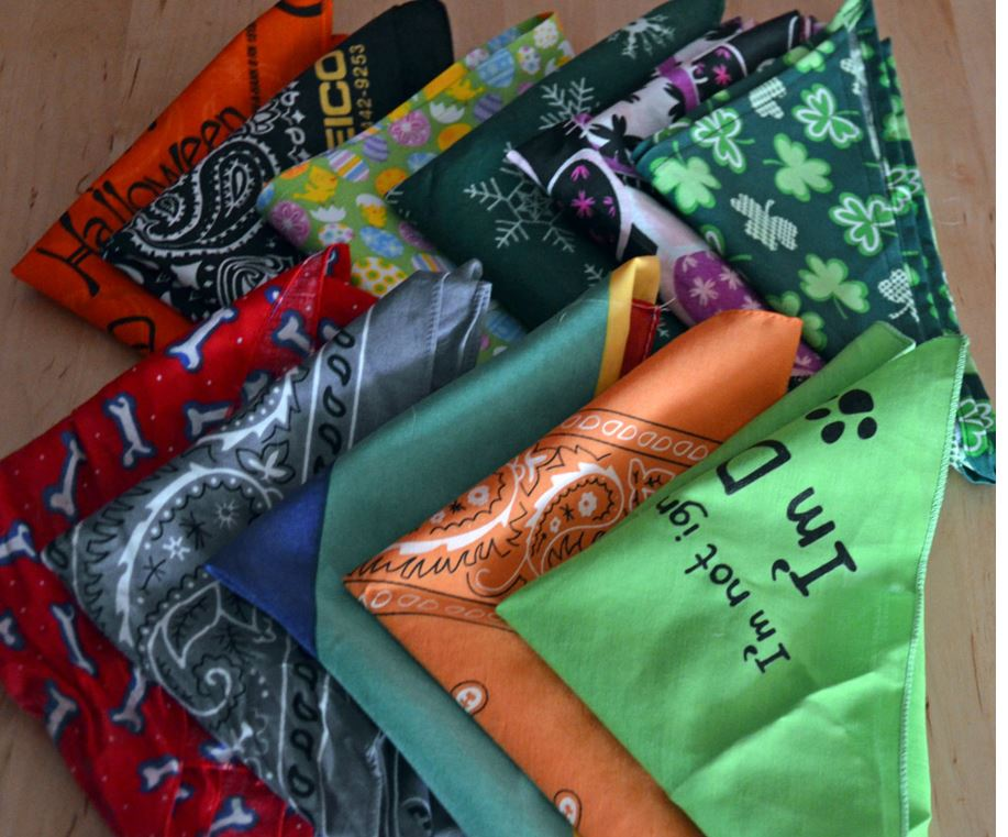 Silk Cotton Polyester Nylon Bandanas