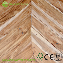 Best price unfinished acacia solid wood flooring