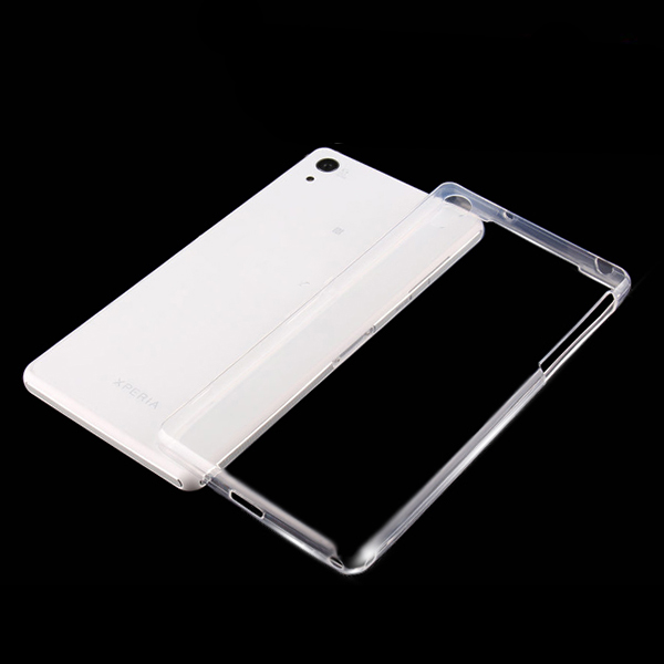 Z2001 Factory Supplier 0.6mm Transparent TPU Cover for Sony Z2 Soft Cell Phone Case