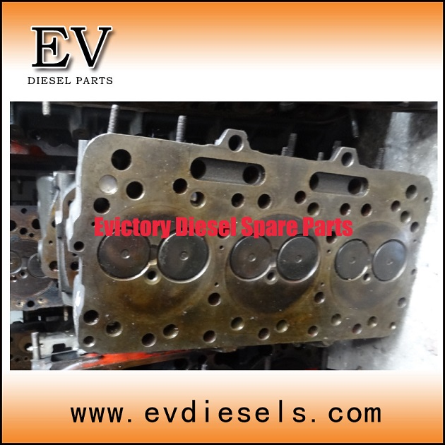 cylinder head FD46T FD46 engine parts - used on NISSAN diesel engines