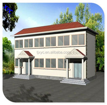 Environmental Lowcost Retail residential structural steel beams prefab houses design
