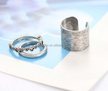 Factory supply men's ring/latest alloy ring designs
