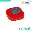 Wholesale New mini portable high quality Shower bluetooth speaker with LED FM radio waterproo bluetooth speaker