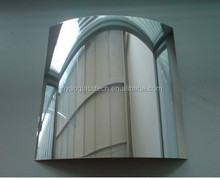Jinyao Silver Aluminum Mirror Decorative 1.8mm 2.7mm 4mm 5mm 6mm 3mm one way mirror on sale