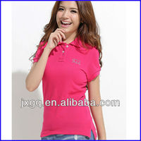 polo t-shirt wholesale 200 gsm with your logo women polo shirt