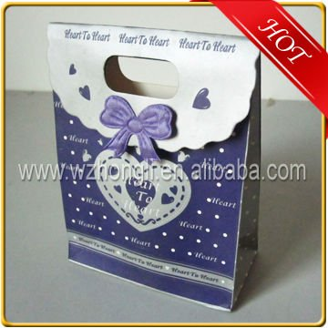cheap paper wedding/christmas gift bags