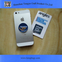Promotion mobile phone sticky screen cleaner