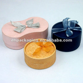 paper box with ribbon,gift box with ribbon,ribbon paper box