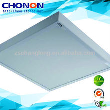commercial T5 light fixture plastic cover with 598*595mm