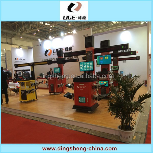 3d wheel alignment machine digital position indicator
