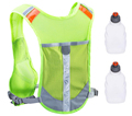 Water Bottle Running Bag With Reflective Strap At Night