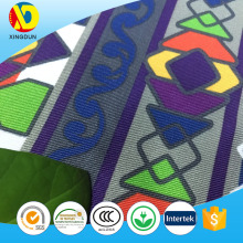 China supplier wholesale polyester african printed chair seat cover fabric