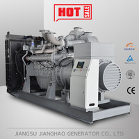1000kw diesel power generator set 1MW generator with UK engine 4012-46TWG2A