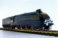 LNER railway G scale steam British brass model train ---LNER A4 (blue)