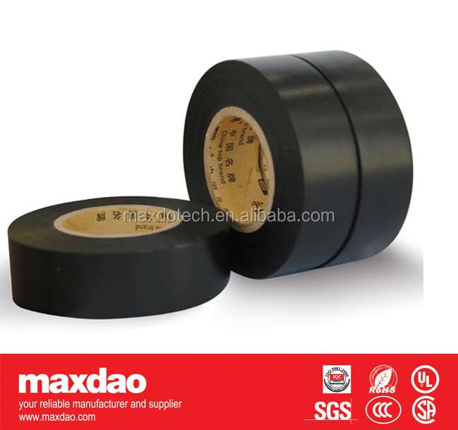 black pvc insulator thermal insulating tape made in china