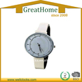 vogue clasical wrist watch of white band for women