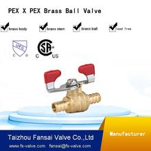 1 2 inch brass lockable water meter ball valve