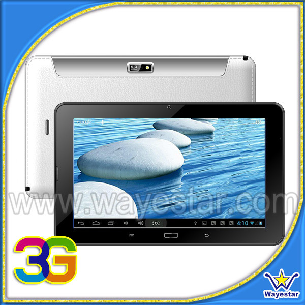 Single sim card slot 9 inch 3G tablet support otg,TV
