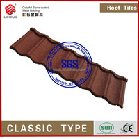 Building material ,colourful stone coated metal roof tiles