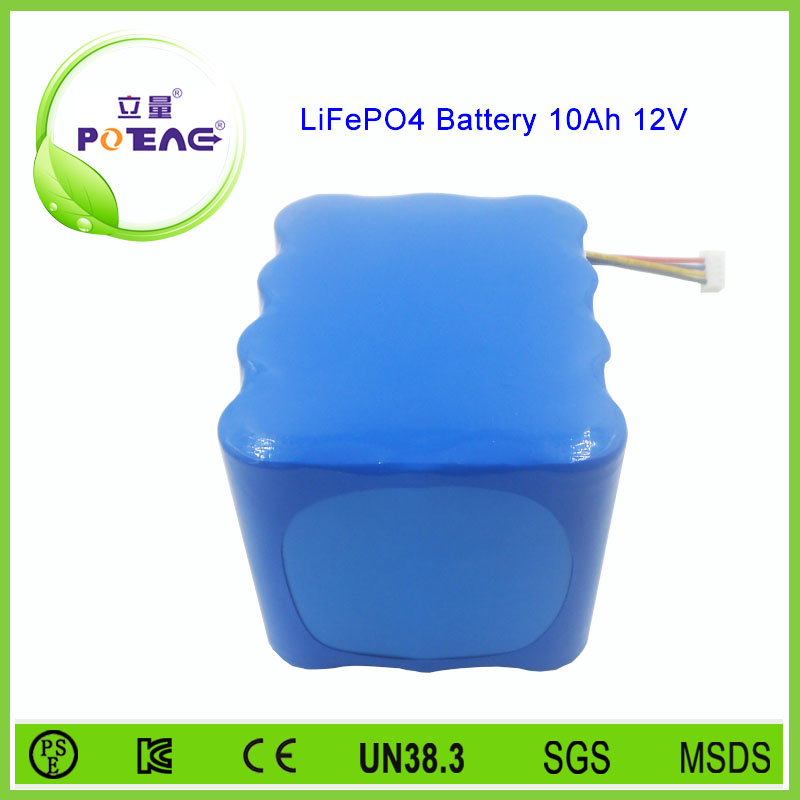 4s3p 12v 10ah lithium ion phosphate battery pack supplier