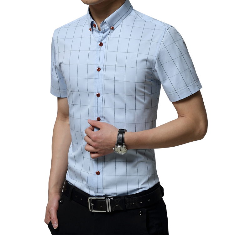 High Quality Cotton Extra Size Shirts Men 39 S Slim Fit