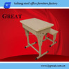 Chidren School Furniture Type and Metal Material Student Desk and Chair
