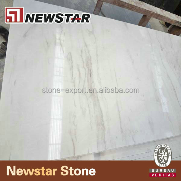 Newstar natural new volakas white marble stone pattern