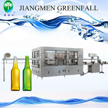 High Quality Glass Bottle Beer Filling Machine Automatic Pet Small Bottle Filling Machine for Water