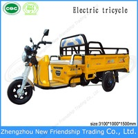 Electric tricycle/Electric rickshaw/Electric motocycle scooter for passenger made in China