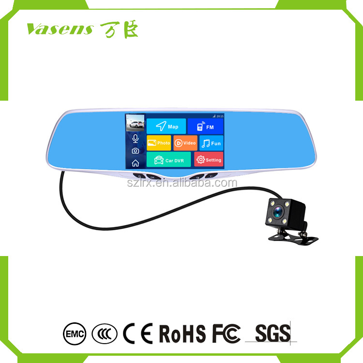 "Top quality portable car 1080P 5"" car navigation gps with Android 5.1 made in china"